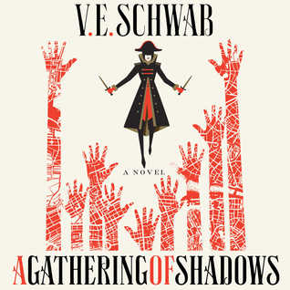 Audiobook cover of A Gathering of Shadows