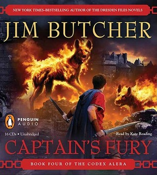 Audiobook cover of Captain's Fury