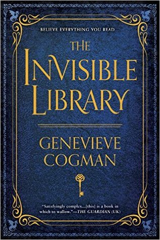 The Invisible Library by Genevieve Cogman cover