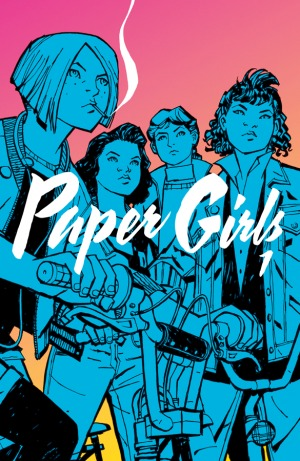Cover of Paper Girls Vol.1