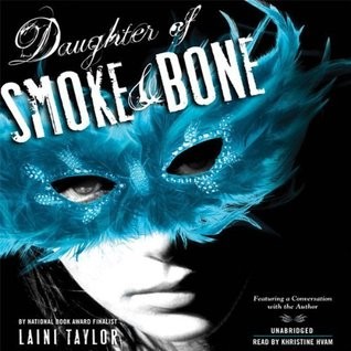 Audiobook cover of Daughter of Smoke and Bone